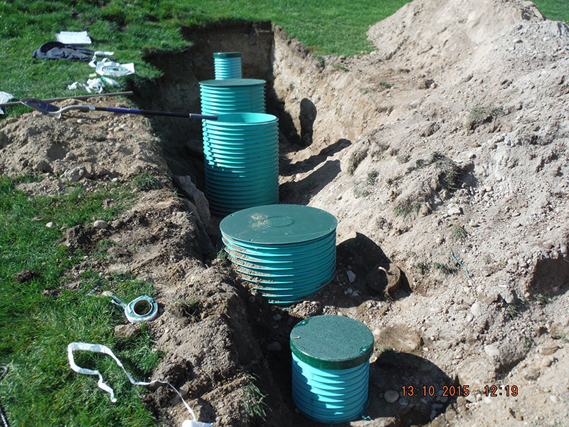 24 inch Riser Pipe Installation Replacement